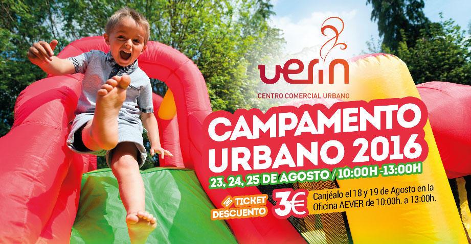 Campamento urbano 2016 Verín Aever