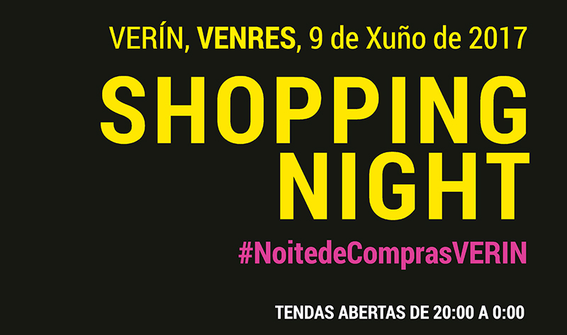 Shopping night Verín