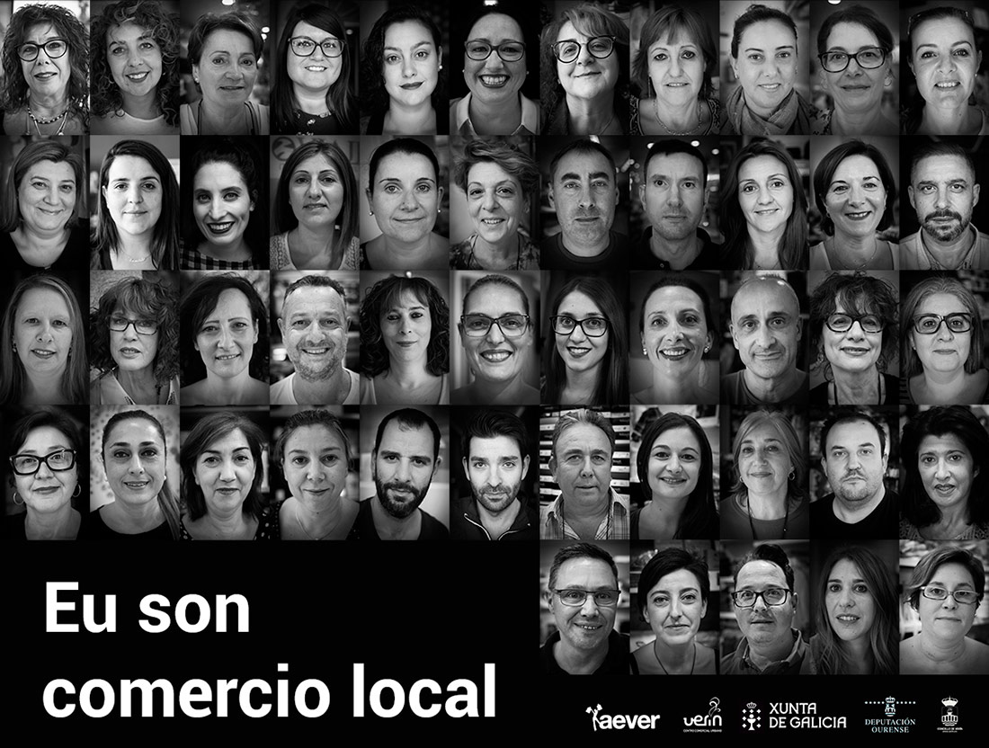 Verín Eu son comercio local