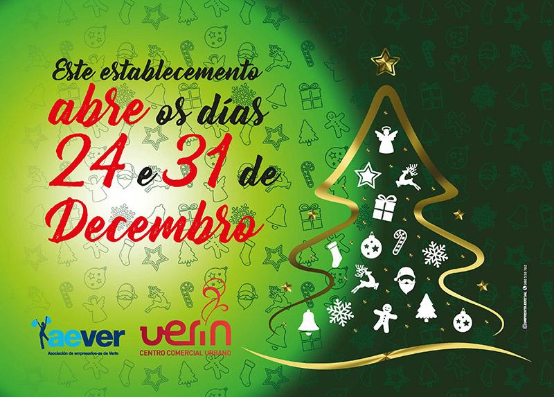 24 e 31 abertos Verín Nadal AEVER