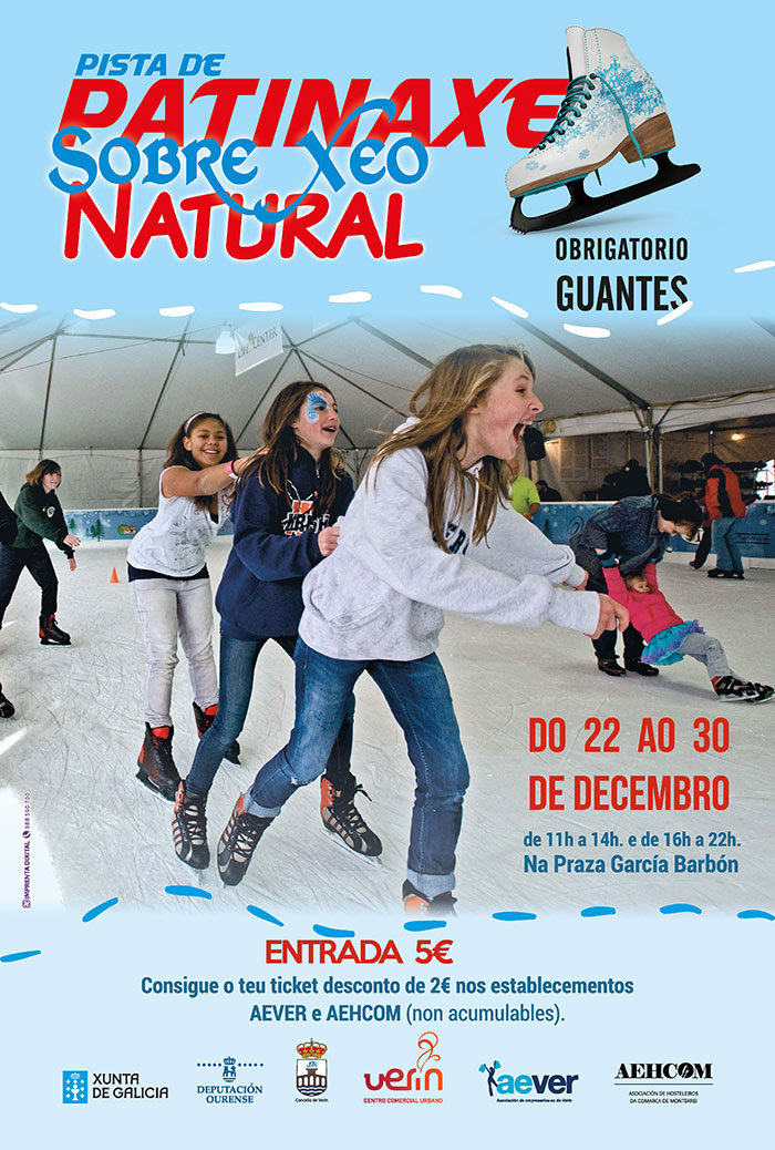 Pista de xeo AEVER Verín Nadal 2017-18