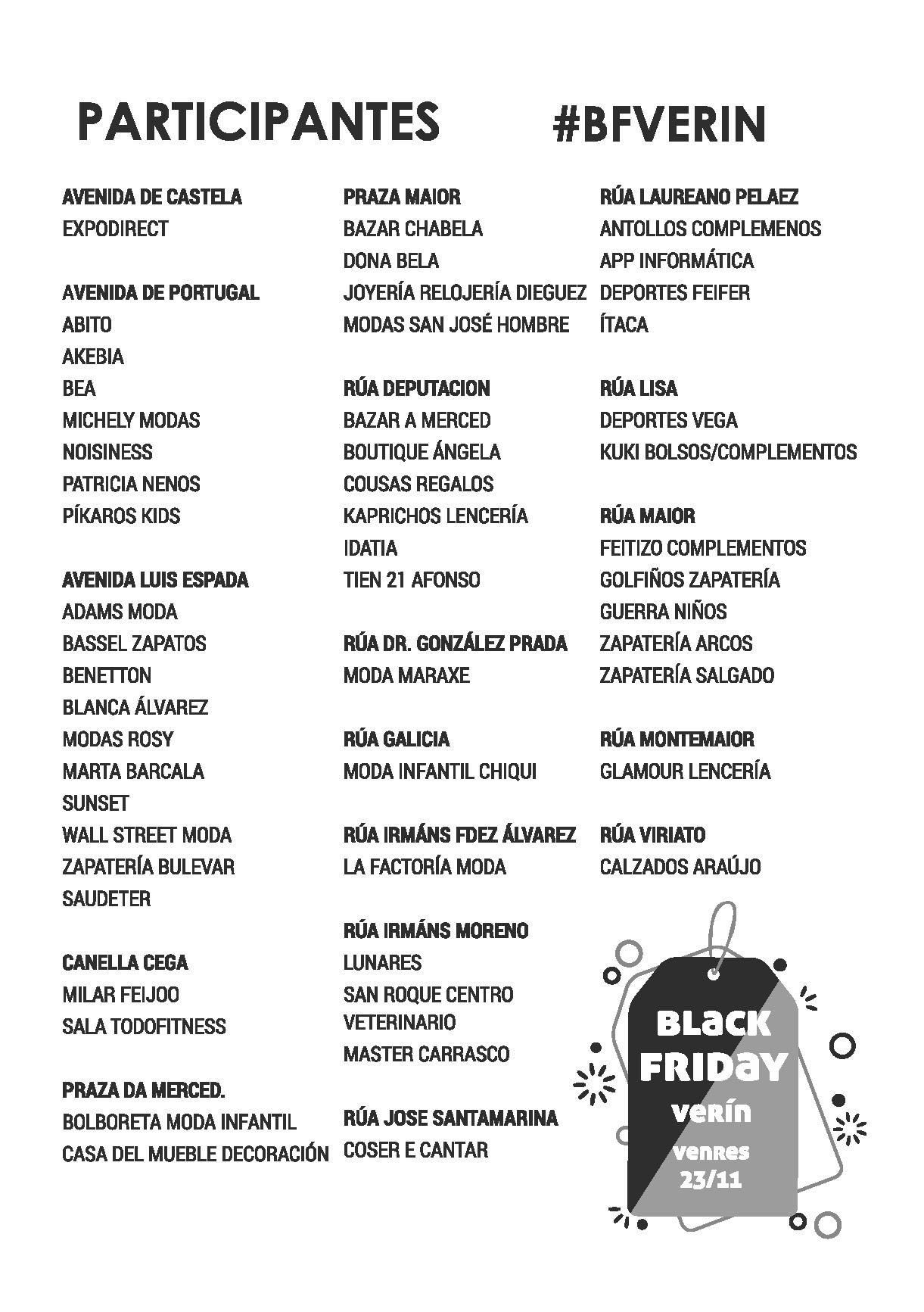 Black Friday Verín 2018